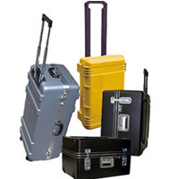 Rolling Cases Equipment And Shipping Cases With Wheels